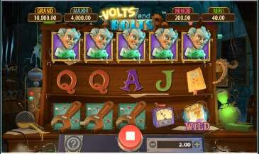 Free spins videoslot features spelen met volts and bolts.